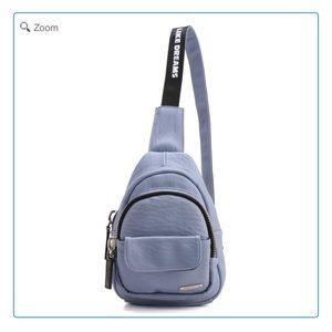 Handbags - NEW Fashion Zip Sling Backpack